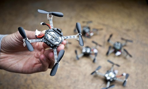 drone in palm of hand